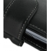 Sony Ericsson Xperia Play Leather Holster Case (Black) genuine leather case by PDair
