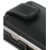 Sony Ericsson W705 Leather Flip Case (Black) handmade leather case by PDair