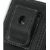 Sony Ericsson XPERIA X1 Pouch Case with Belt Clip (Black) protective carrying case by PDair