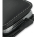 Sony Ericsson XPERIA X1 Pouch Case with Belt Clip (Black) handmade leather case by PDair