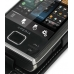Sony Ericsson Xperia X2 Leather Flip Case (Black) top quality leather case by PDair
