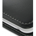 Sharp IS03 Leather Flip Cover (Black) top quality leather case by PDair