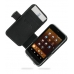 Sharp IS03 Leather Flip Cover (Black) offers worldwide free shipping by PDair