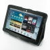 Samsung Galaxy Tab 2 10.1 Leather Flip Carry Cover (Black) custom degsined carrying case by PDair