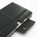Samsung Galaxy Tab 2 10.1 Leather Folio Stand Case (Black) protective carrying case by PDair
