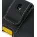 Samsung B3210 CorbyTXT Leather Holster Case (Black) protective carrying case by PDair