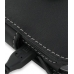 Samsung Omnia Pro B7330 Leather Flip Cover (Black) genuine leather case by PDair