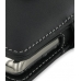 Samsung Jack SGH-i637 Leather Flip Cover (Black) genuine leather case by PDair