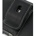 Samsung Jack SGH-i637 Leather Holster Case (Black) protective carrying case by PDair