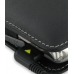 Samsung Jack SGH-i637 Leather Sleeve Pouch Case (Black) protective carrying case by PDair