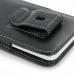 Samsung Galaxy A3 Pouch Case with Belt Clip genuine leather case by PDair
