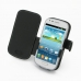 Samsung Galaxy S3 Mini Leather Flip Cover top quality leather case by PDair