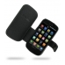 Samsung Epic 4G Galaxy S Leather Flip Cover (Black) offers worldwide free shipping by PDair