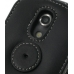 Samsung Epic 4G Galaxy S Leather Flip Case (Black) protective carrying case by PDair