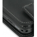 Samsung Rant M540 Leather Flip Case (Black) handmade leather case by PDair