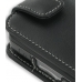 Samsung Rant M540 Leather Flip Case (Black) genuine leather case by PDair