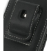 Samsung Rant M540 Pouch Case with Belt Clip (Black) protective carrying case by PDair