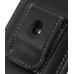Samsung B5722 Pouch Case with Belt Clip (Black) protective carrying case by PDair