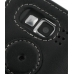 Samsung SGH-i600 / SGH-i608 Leather Flip Cover (Black) protective carrying case by PDair