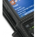 Samsung SGH-i600 / SGH-i608 with Ext Bat Leather Flip Cover (Black) genuine leather case by PDair