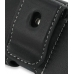 Samsung C6112 Leather Holster Case (Black) protective carrying case by PDair