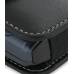 Samsung C6112 Leather Holster Case (Black) genuine leather case by PDair