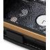 Samsung B7620 Giorgio Armani Leather Flip Case (Black) handmade leather case by PDair