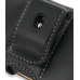 Samsung B7620 Giorgio Armani Leather Holster Case (Black) protective carrying case by PDair