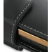 Samsung B7620 Giorgio Armani Leather Holster Case (Black) handmade leather case by PDair