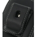 Samsung B7620 Giorgio Armani Pouch Case with Belt Clip (Black) protective carrying case by PDair