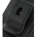 Samsung B7300 Omnia Lite Pouch Case with Belt Clip (Black) protective carrying case by PDair