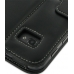 Samsung Galaxy Tab 7.0 Plus Leather Flip Carry Cover (Black) protective carrying case by PDair