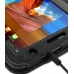 Samsung Galaxy Tab 7.0 Plus Leather Flip Carry Cover (Black) handmade leather case by PDair