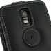 Samsung Galaxy S2 LTE i727R Leather Flip Top Case (Black) protective carrying case by PDair
