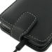 Samsung Galaxy S2 LTE i727R Leather Flip Top Case (Black) handmade leather case by PDair
