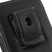 Samsung Galaxy S2 LTE i727R Pouch Case with Belt Clip (Black) protective carrying case by PDair