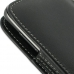 Samsung Galaxy S2 LTE i727R Pouch Case with Belt Clip (Black) genuine leather case by PDair
