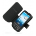 Samsung i7500 Galaxy Leather Flip Cover (Black) offers worldwide free shipping by PDair
