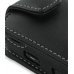 Samsung i7500 Galaxy Leather Flip Case (Black) handmade leather case by PDair