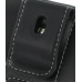 Samsung i7500 Galaxy Leather Holster Case (Black) protective carrying case by PDair