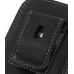 Samsung i7500 Galaxy Pouch Case with Belt Clip (Black) protective carrying case by PDair