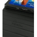 Samsung Galaxy Tab 8.9 Leather Folio Stand Case (Black) top quality leather case by PDair