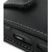 Samsung Omnia 2 Leather Flip Case (Black) top quality leather case by PDair