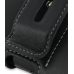 Samsung Omnia 2 Leather Holster Case (Black) protective carrying case by PDair