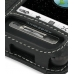 Samsung Behold T919 Leather Flip Cover (Black) top quality leather case by PDair