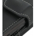 Samsung Behold T919 Leather Holster Case (Black) handmade leather case by PDair