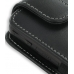 Samsung Behold T919 Pouch Case with Belt Clip (Black) genuine leather case by PDair