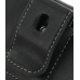 Samsung Omnia HD i8910 Leather Holster Case (Black) protective carrying case by PDair