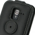 Samsung Galaxy Ace 2 Leather Flip Top Case protective carrying case by PDair