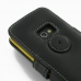 Samsung Galaxy Beam Leather Flip Cover (Black) protective carrying case by PDair